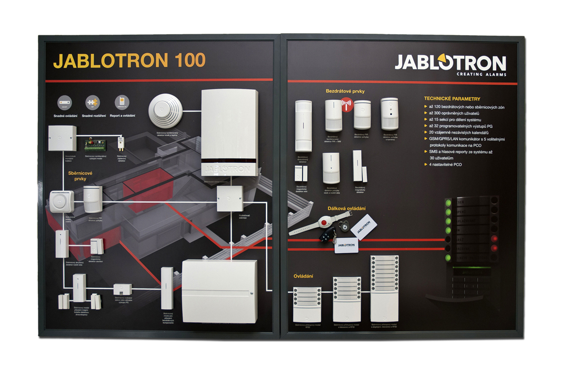 alarmanlage jablotron 100 philipp sicherheitstechnik. Black Bedroom Furniture Sets. Home Design Ideas