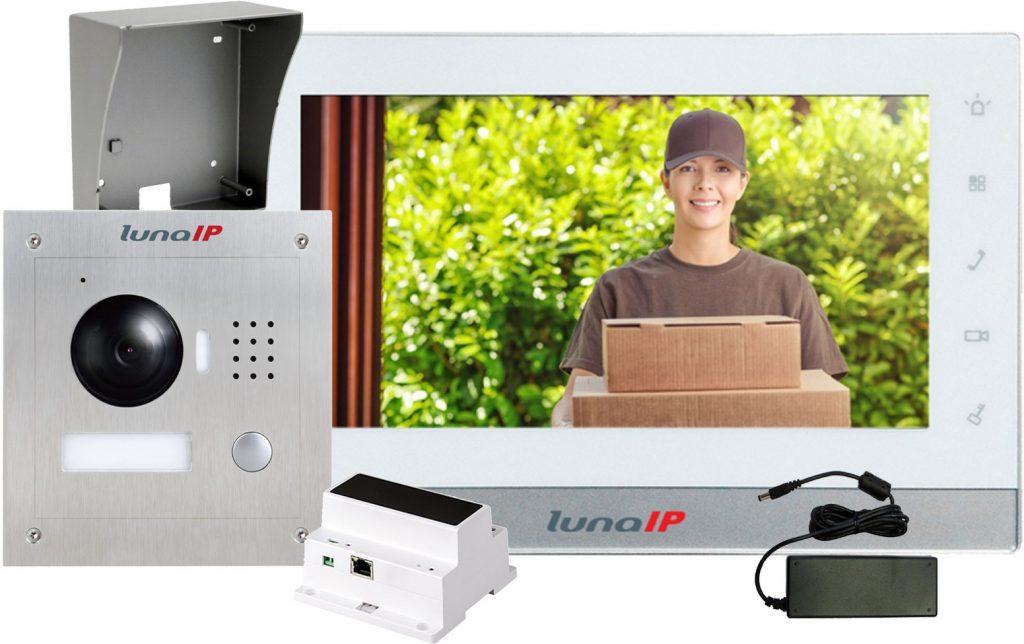 LunaIP 2-Draht-Videotürsprechanlage - Philipp Sicherheitstechnik